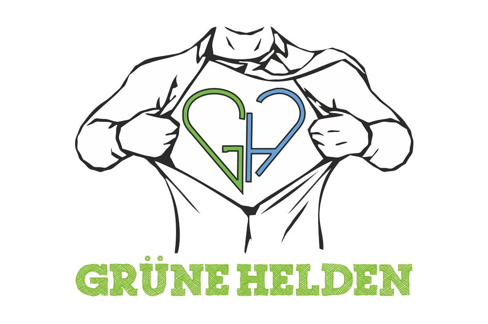 Grüne Helden Logo
