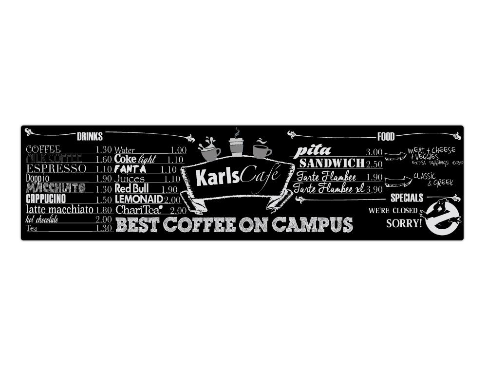 KarlsCafé Tafel