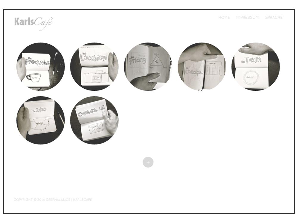 KarlsCafé Webdesign